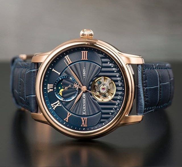 We Can't Keep Our Eyes Off The Longitude Moonphase Automatic From Thomas Earnshaw