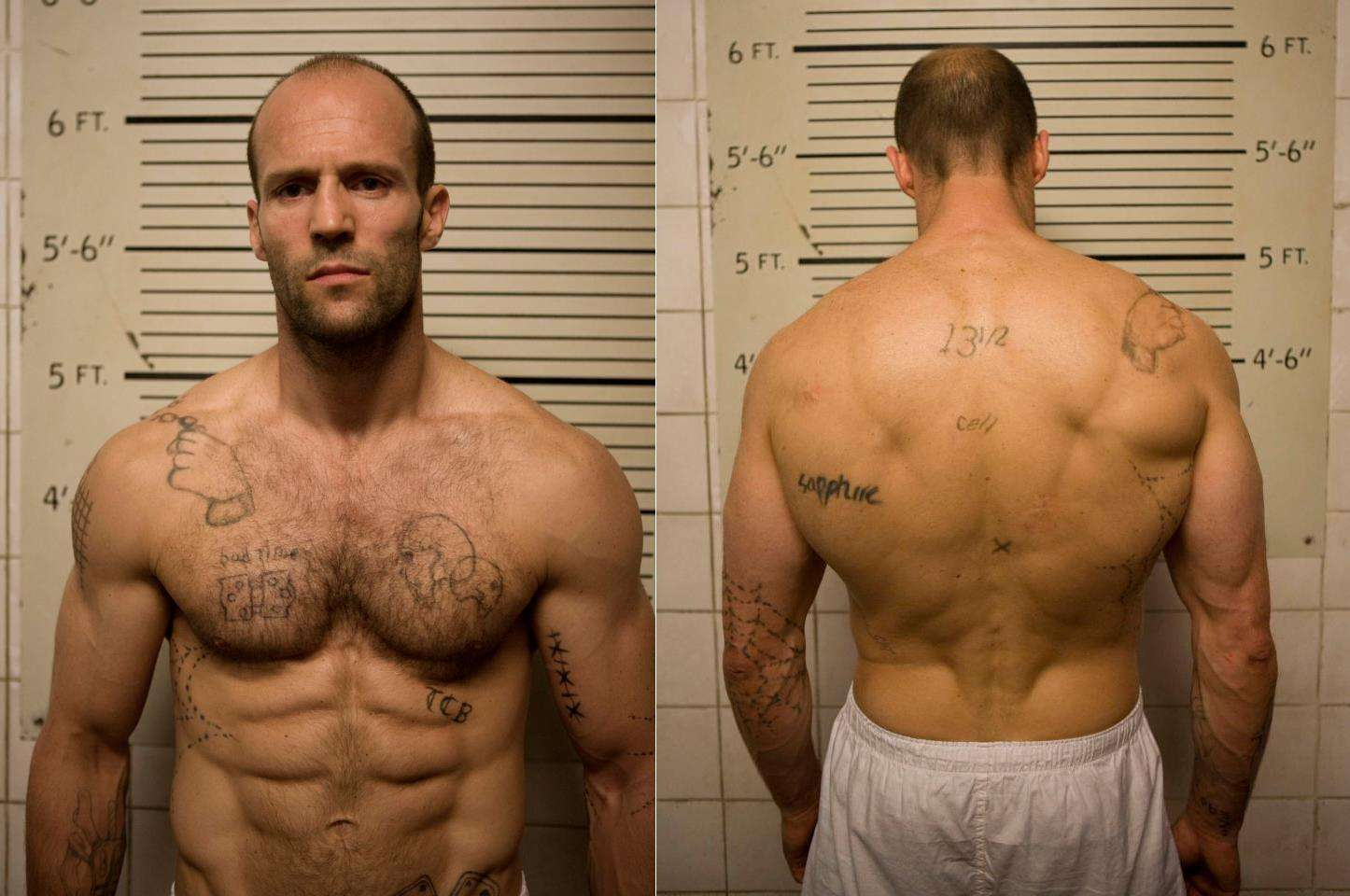 The Top 11 Most Jacked Movie Bodies - 1M