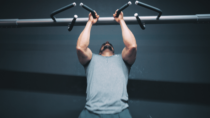 upper body workout pull ups and chin ups