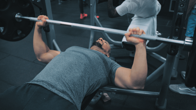 upper body workout bench press