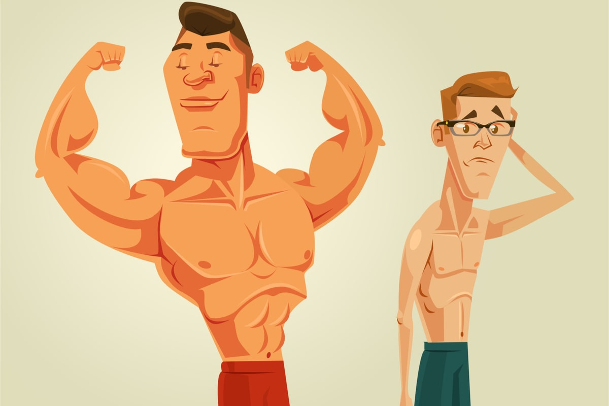 Fake Heights, steroids and age comparisons – The Truth behind low confidence in men