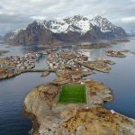 World's Coolest 18 Football Pitches