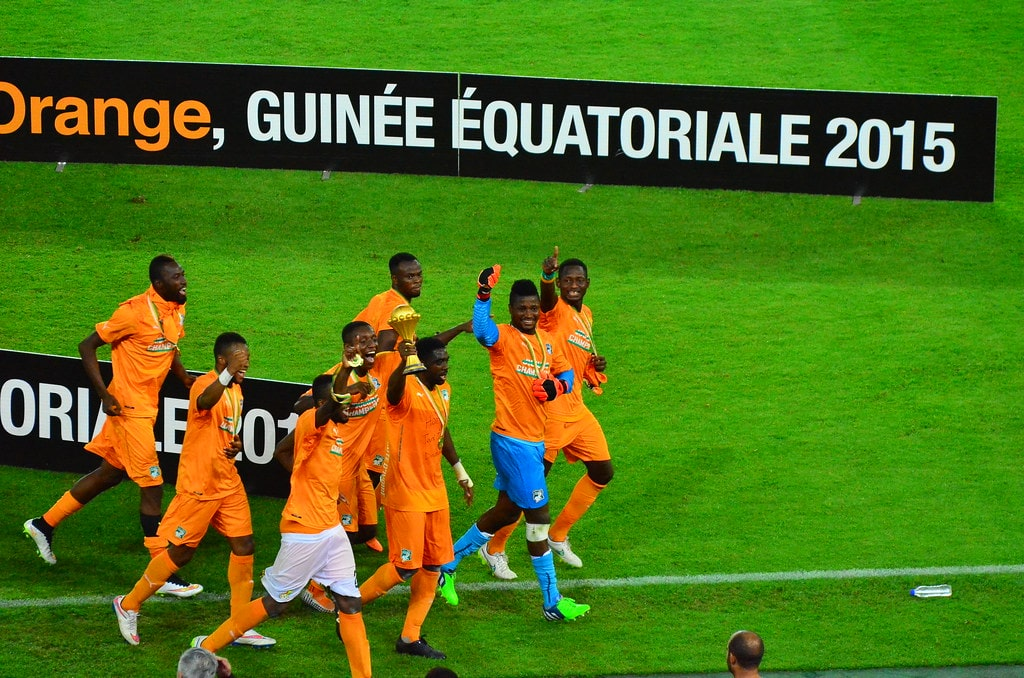 african team win the world cup